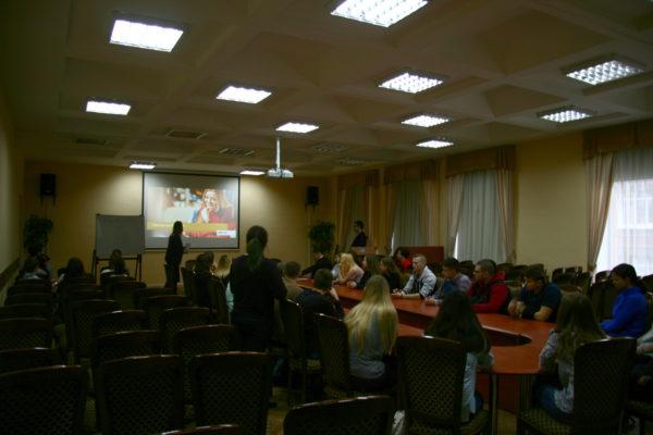 Мастер-класс, организованный СПб ГАУ ЦТР в рамках проекта «Твой первый шаг в карьере» для студентов образовательных учреждений