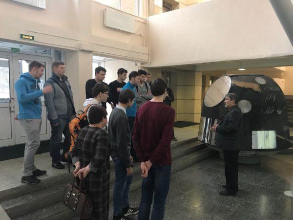 Экскурсия в ГНЦ РФ ЦНИИ РТК в рамках проекта «Твой первый шаг в карьере»