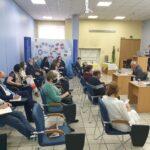 13 октября 2020 года в Центре трудовых ресурсов Комитета по труду и занятости населения Санкт-Петербурга состоялась рабочая встреча с руководителями кадровых служб и профсоюзных организаций ведущих предприятий судостроительной отрасли региона