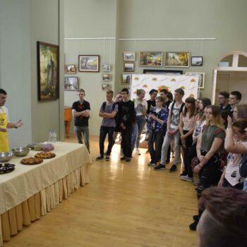 Поварской мастер-класс на конкурсе За нами в профессию: сфера гостеприимства