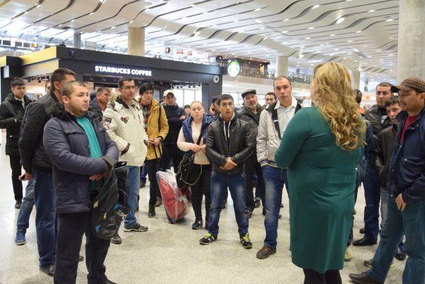 Консультационный пункт в аэропорту Пулково