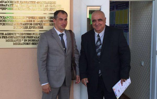 Подписано соглашение о сотрудничестве с «Центр консультирования и подготовки трудовых мигрантов перед выездом» в г. Душанбе