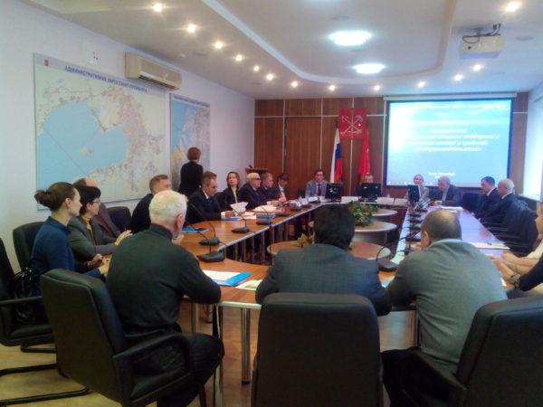 Конференция «Актуальные вопросы развития малого и среднего предпринимательства» в администрации Кировского района Санкт-Петербурга