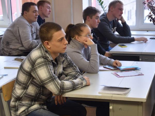 Мастер-класс СПб ГАУ ЦТР в рамках проекта «Твой первый шаг в карьере» для профессиональных образовательных учреждений