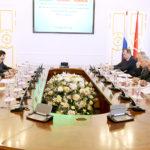 Встреча в Смольном Чрезвычайного и Полномочного Посла Республики Таджикистан в Российской Федерации