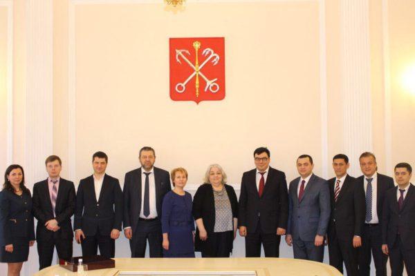 Визит Министра труда Республики Узбекистан в Санкт-Петербург