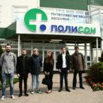 Экскурсия для студентов Санкт-Петербургского государственного технологического института на научно-технологическую фармацевтическую фирму ПОЛИСАН