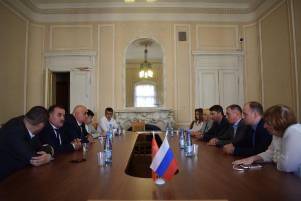 Визит делегации из Республики Таджикистан в Санкт-Петербург