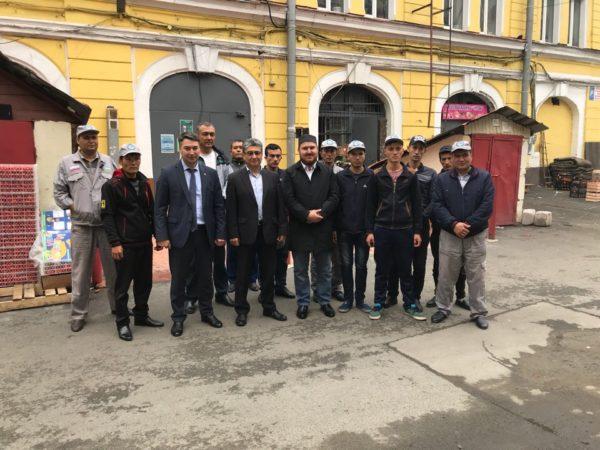 Адаптационные мероприятия для граждан Республики Узбекистан в рамках организованного набора на предприятияи ворганизации Санкт-Петербурга