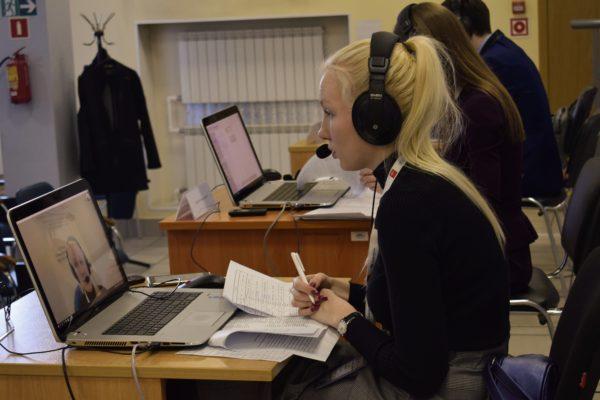 27 марта 2019 года прошла ярмарка вакансий рабочих мест в регионах РФ с использованием видеоконференцсвязи