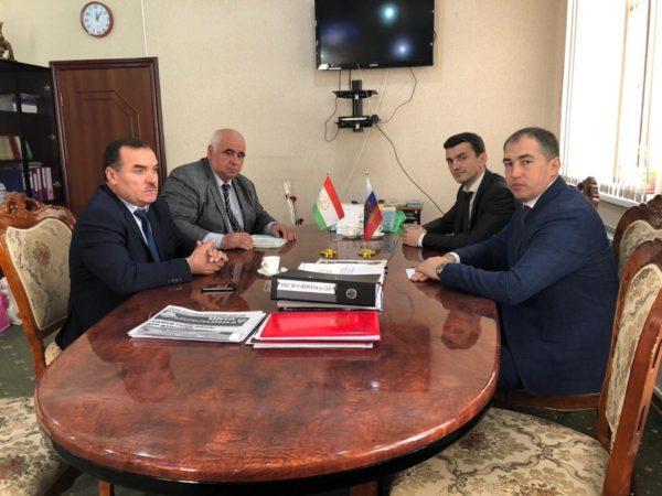 18 марта 2019 года в Республике Таджикистан состоялась рабочая встреча по вопросам создания центров по организованному набору на предприятия Санкт-Петербурга