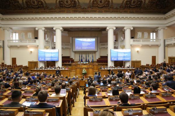Директор СПб ГАУ ЦТР Алексей Чистяков выступил с докладом в Межпарламентской Ассамблее государств СНГ на Конференции по противодействию международному терроризму